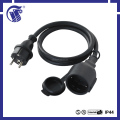 IP44 IEC female connector CEE male connector 2 pin extension cord