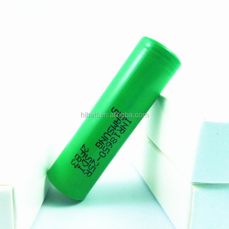 Original battery INR18650 25R made in Korea 2500mAh 3.6V high continuous discharge current 25Amp