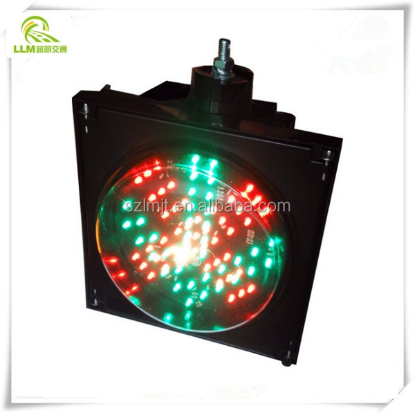 Best price toll station use 300mm red green LED traffic signal warning light