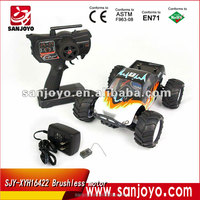 1/16 Brushless motor rc monster mini truck