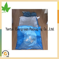 Big firewood bags, breathable super sacks for onions, Breathable bulk bags for packing vegetable