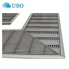Flat Wedge Wire Welded Screen Stainless Steel Sieve Curve Plate