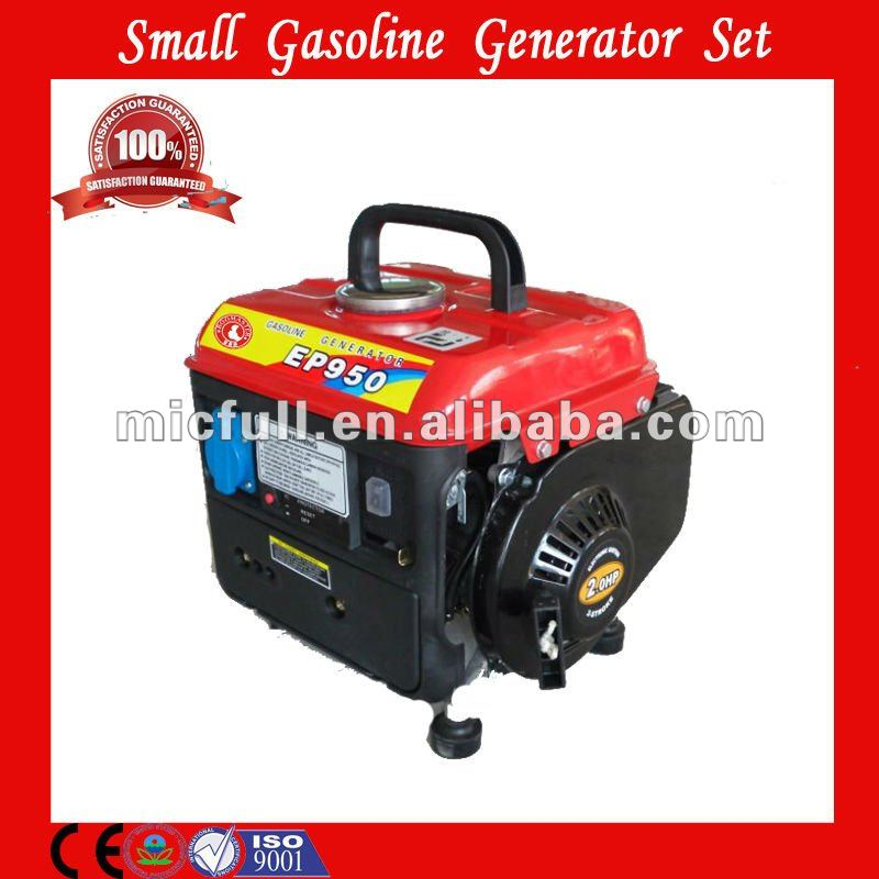 Mini portable gasoline generator 500w 4 stroke with CE ISO EPA