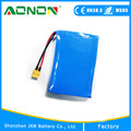 10S1P 36v 2.5Ah battery for electric scooter