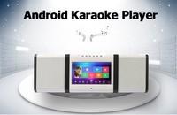 Bass Treble Echo mixerTouch screen portable karaoke player for Home entertainment