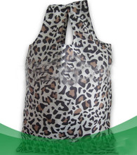 small animal leopard printing shopping bag for lady