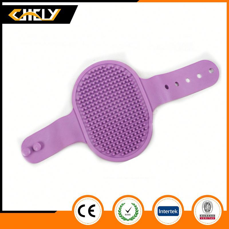 Professional latest Factory Price Wooden Handle Double-Sided dog Brush