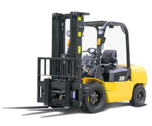 3500kg capacity clamp forklift truck