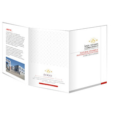 Customised products promotional brochure sample