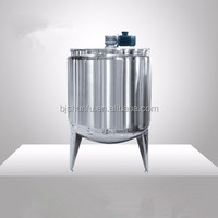 Sunfull movable juice processing line liquid mixing tank/liquid mixing tank for juice and beverage producing line
