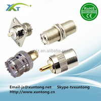 UHF PL-259 Male Solder RF Connector Plug For RG8 Coaxial Cable connector