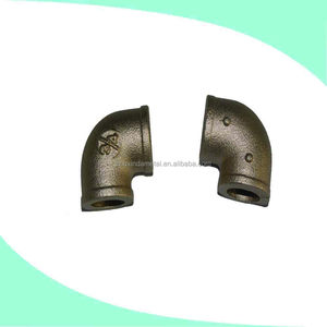 Designed processing elastic components brass casting pipe fitting