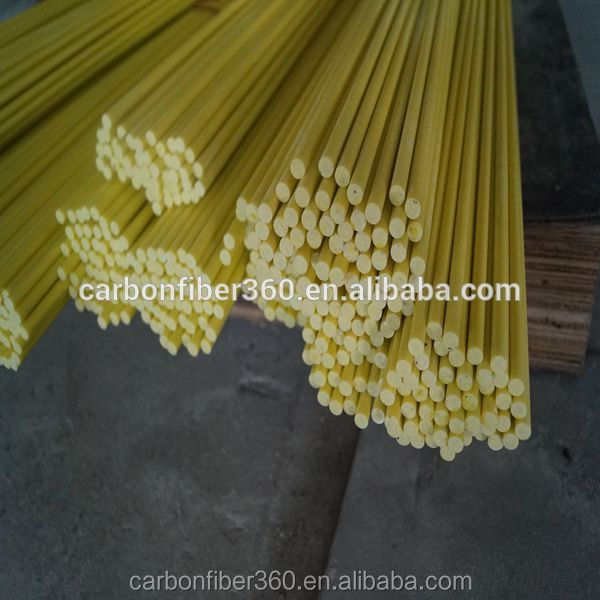 Factory price fiberglass rods /pole/ stick, colour solid fiberglass rod