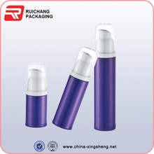 PP plastic cream lotion pump bottles for cosmetic packaging