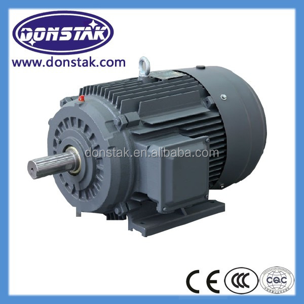 45KW ac Electrical fan smoke extraction Motor for central air conditionner