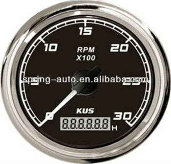 High quality 85mm tachometer 3KL for marine car