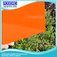 Strong plasticity and good machining capability soild polycarbonate sheet roofing