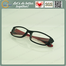 China virtual reality glasses with clear glasses frame