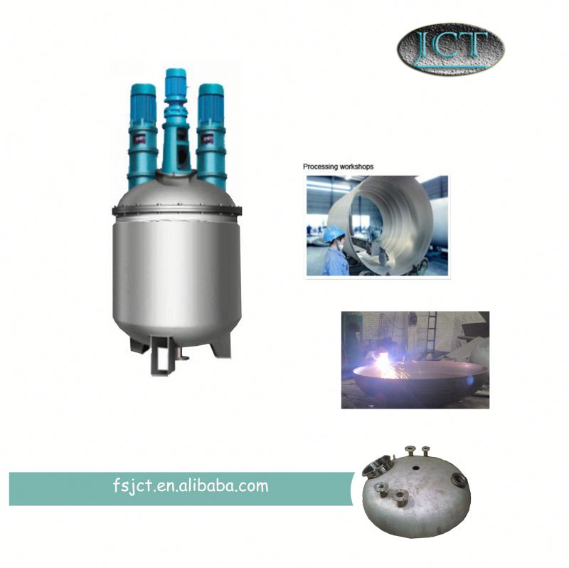 JCT tile fixing adhesive making reactor