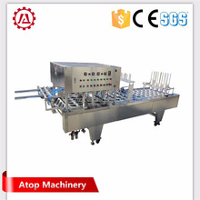 Fully Automatic Rotary Hummus Cup Filling Sealing Capping Machine