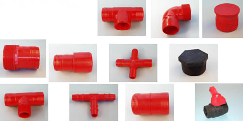 Nylon Fittings for LDPE pipe