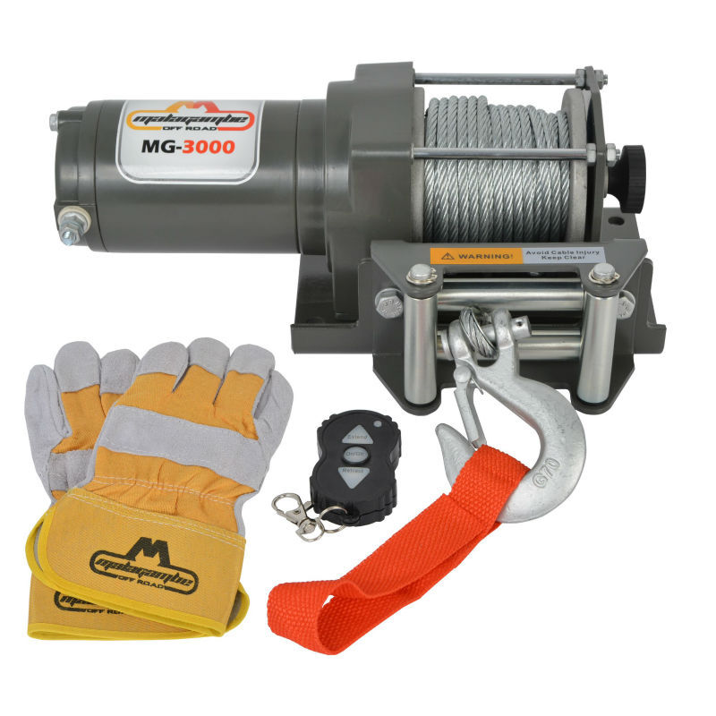 Malagambe ATV - QUAD WINCH MG-3000 + WIRELESS REMOTE