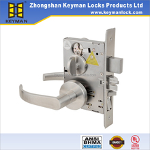 Top Rated Safes Double Sided Key Door Handle Lock For House Door