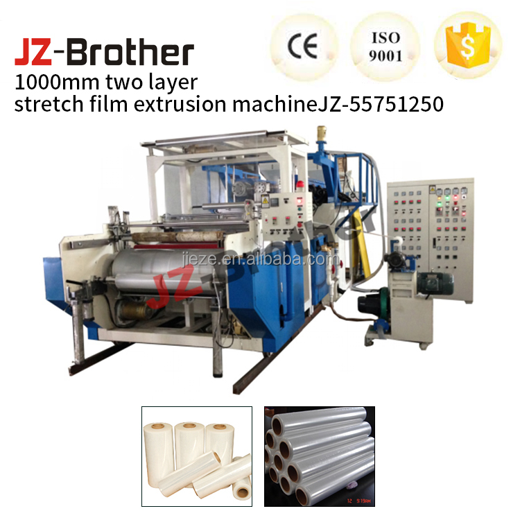 Plastic Double screw extruder or Stretch Film Machine for stretch film manufacture