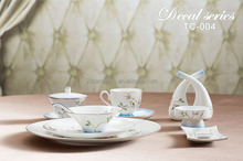 fancy hotel & restaurant crockery tableware used china dinnerware