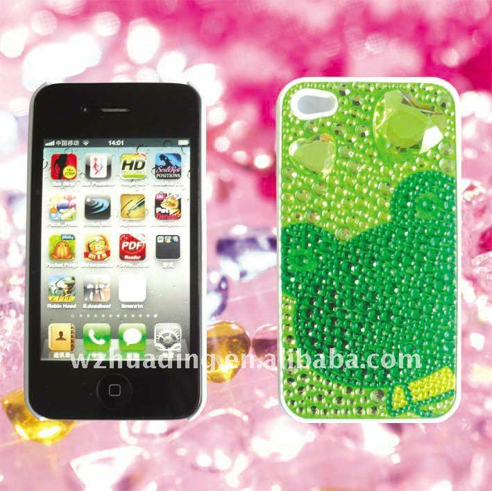 for iphone 4S diamond mobilephone case