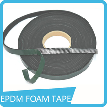 black color self adhesive insulation epdm foam tape