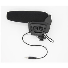 Mono Camera Microphone with Low Cut and Pad Switch, stereo camera microphone, microphone for camera