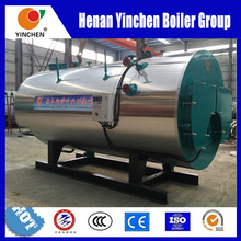 Full Automatic Wns Series Diesel Gas Boiler with Fuel Economizer