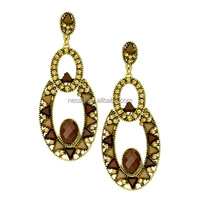 fashion earring gold jewellery designs photos wholesale ER-019364