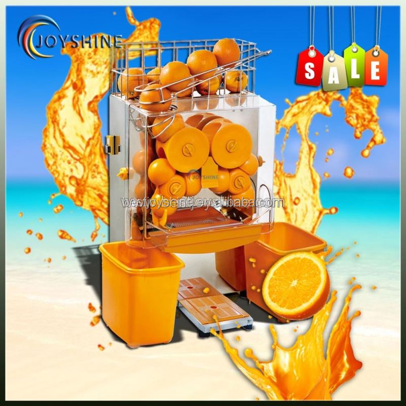 Hot selling strong power commercial orange juicer machine/orange juice extractor machine