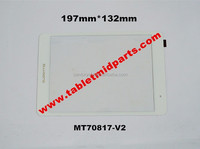 Tablet PC Replacement 7.0 inch BLUISENS M1 mini touch screen touch panel MT70817-V2