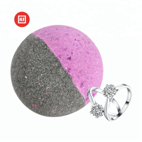 Factory price best selling bath bombs natural essential oil for bubble bath with jewelry