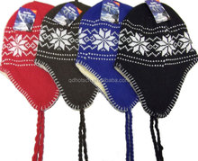 2014 Quality winter knitted acrylic hat for kids