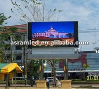 "new idea outdoor advertising P10 100"" big screen tv"