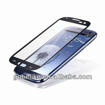 2013 NEW tempered glass screen protector for for Samsung Galaxy S3 Series I9300