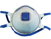 FFP2 Carbon Active Filter Dust Mask With Valve