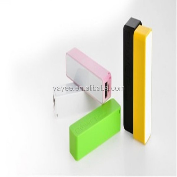 power bank with charging cable / 3 usb output ports power bank for tablets & mobile phones