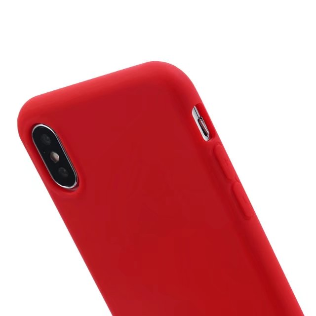 Solid Candy Color Soft TPU Soft Rubber Phone Case For iPhone X 8 8Plus 7 7Pus 6 6s Plus