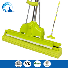 Double Roller Super Absorbent PVA Sponge Mop with wiper