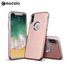 Mocolo Factory in China Wholesale Mobile Accessories PU Leather Phone Case For iPhoneX