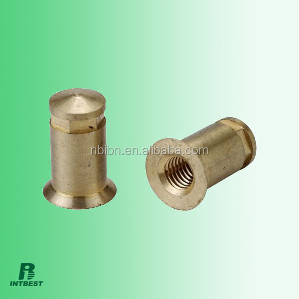 industrial machine and agricultural machine and automobile and household appliance brass components