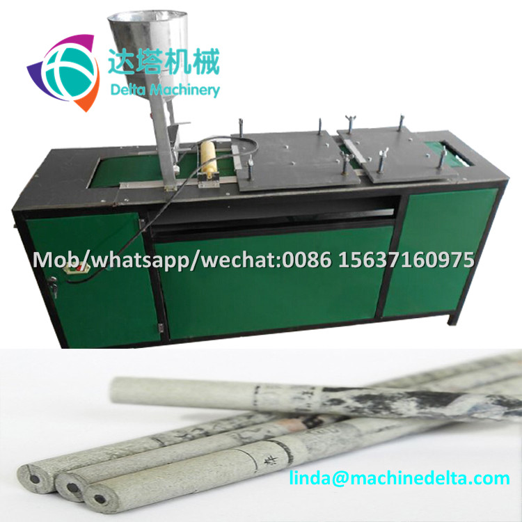 semi-automatic electric recycled waste paper color pencil making machines