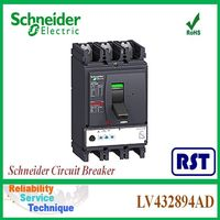 LV432894AD NSX630N 4P Micrologic2.3 630A Compact Merlin Gerin Schneider MCCB Molded Case Circuit Breaker
