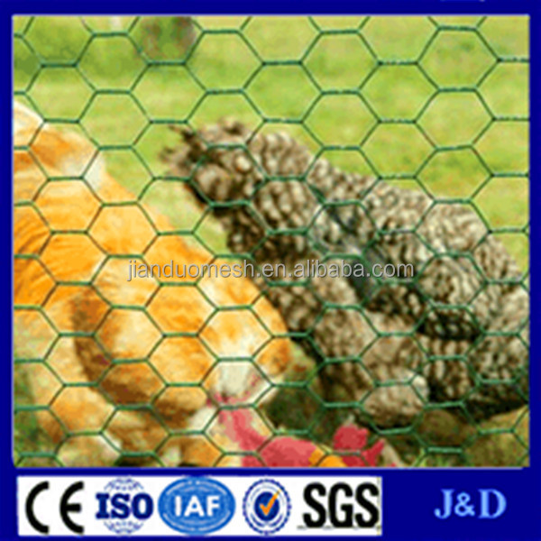 Galvanized chicken coop hexagonal wire mesh