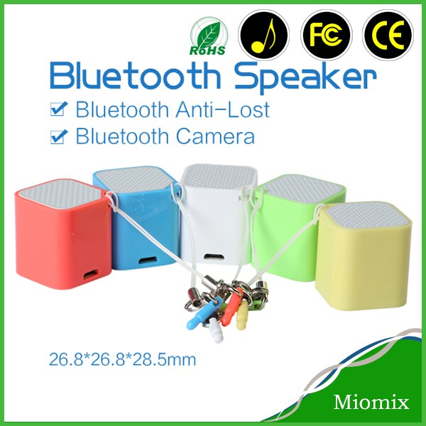 2014 mini gadgets smallest music cube bluetooth speaker wireless ceiling speakers